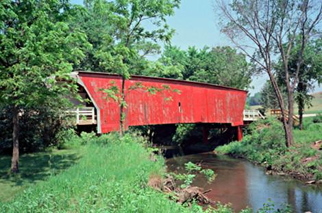 Cedar Bridge in Madison County